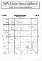 Eden Township, Bazile Creek, Directory Map, Antelope County 2006